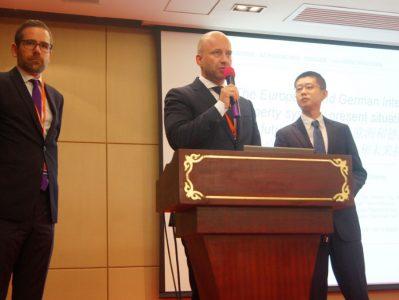 Dr. Maximilian Wittmer und Felix Grosse auf Vortragsreise zum IP Summit in China