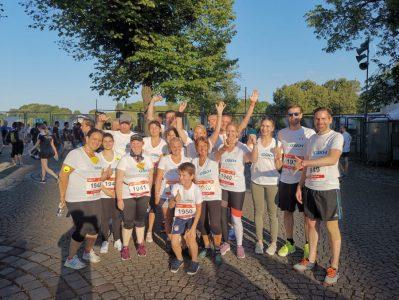 B2run-Firmenlauf Event im Olympiapark in München