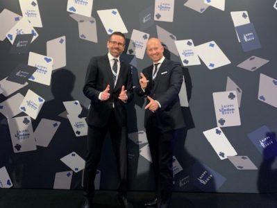 Dr. Maximilian Wittmer und Felix Grosse auf dem World Congress AIPPI in London